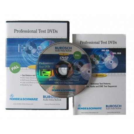 Professional Test DVD