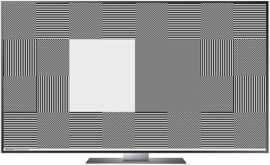 TV Testbild CHV Pattern Full HD 1920 x 1080 Px.