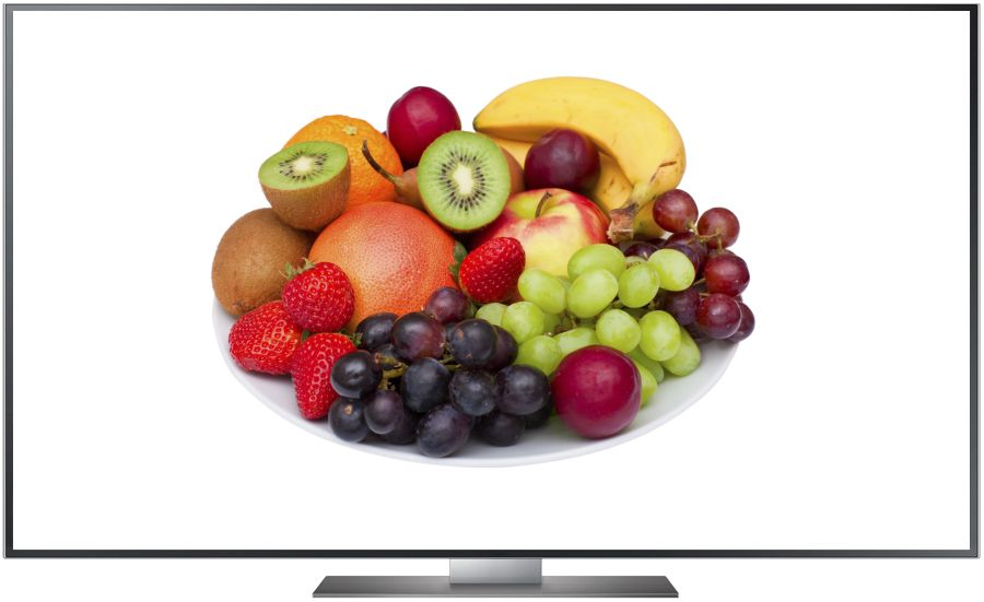 TV Realbild Obst Full HD 1920 x 1080 Px.
