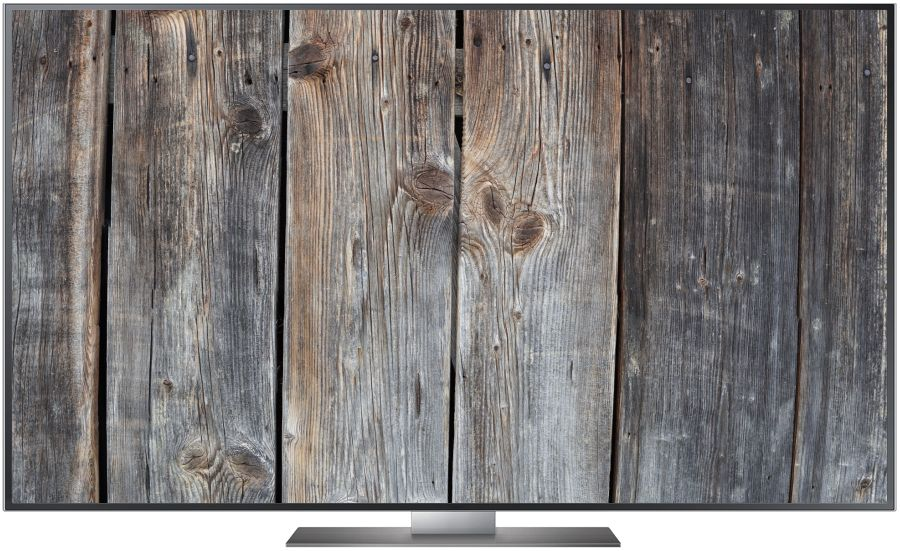 TV Realbild Woodgrain Full HD 1920 x 1080 Px.