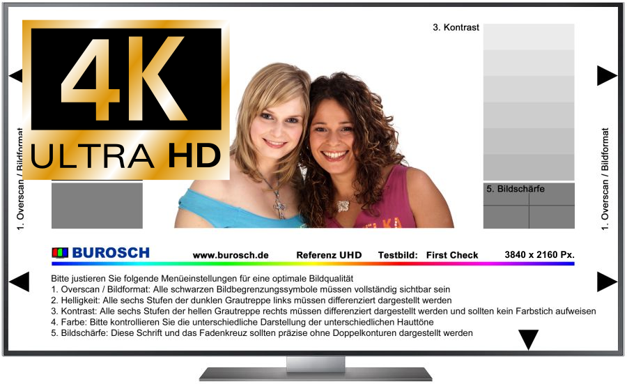 Ultra HD Testbilder - Download