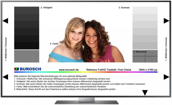Referenz TV Testbilder in Full HD als software download