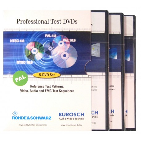 Professional Test DVD Set  PAL